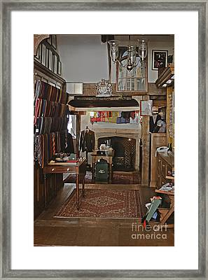 Framed Print featuring the photograph Are You Being Served ? by Terri Waters