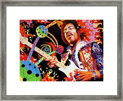 Are You Experienced Framed Print by Joshua Morton