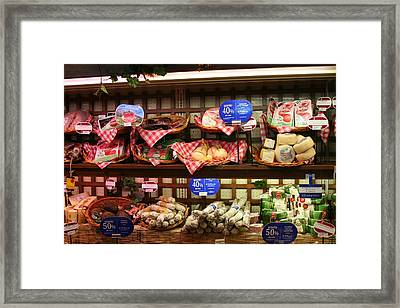 Are You Hungry Framed Print by Dick Willis