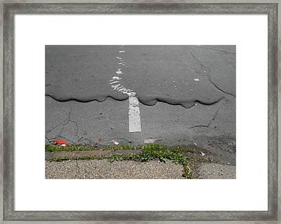 Are You In Line?  Framed Print by Richard Barone