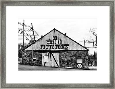 Are You Lost Framed Print by Paul Ward