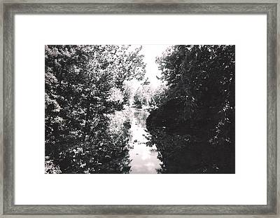 Are You On The Right Side Framed Print