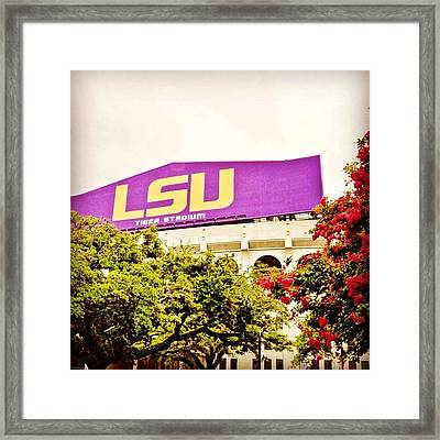 Are You Ready? #igersoflouisiana Framed Print