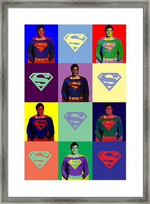 Are You Super? Framed Print