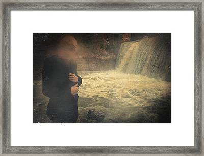 Are You There ? Framed Print by Taylan Apukovska