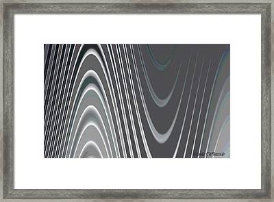 Framed Print featuring the digital art Are You There There There Ther by Linda Whiteside