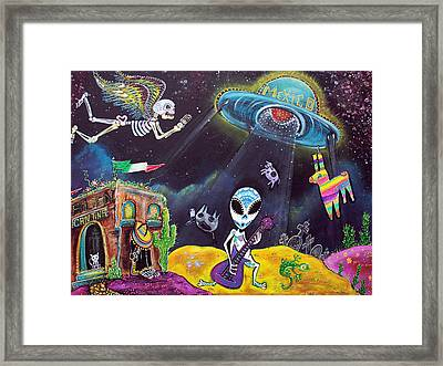 Area 54 Framed Print