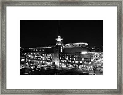 Arena At Night Framed Print
