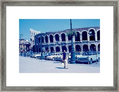 Arena Verona Italy 1962 Framed Print by Cumberland Warden
