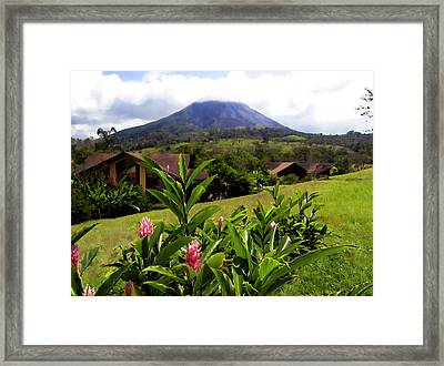 Arenal Costa Rica Framed Print