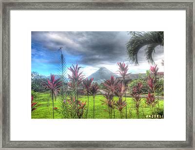 Arenal Volcanoe Framed Print