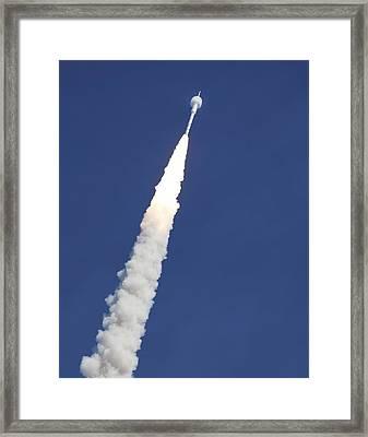 Ares I-x Test Rocket Launch Framed Print