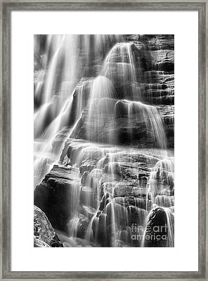 Arethusa Falls Framed Print by Sharon Seaward
