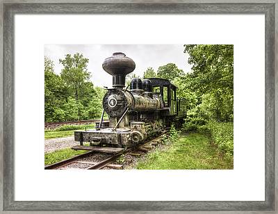 Argent Lumber Company Engine No. 4 - Antique Steam Locomotive Framed Print by Gary Heller