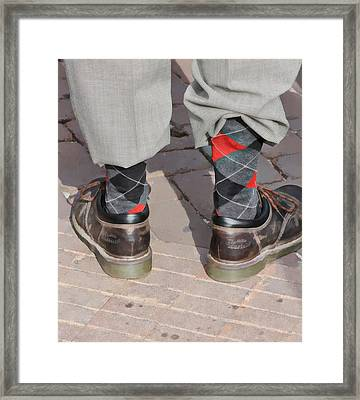 Argyle Framed Print by James Stough
