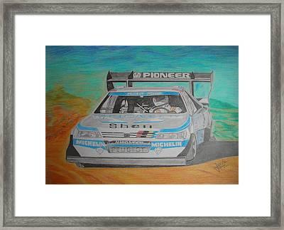 Ari Vatanen Framed Print by Jose Mendez