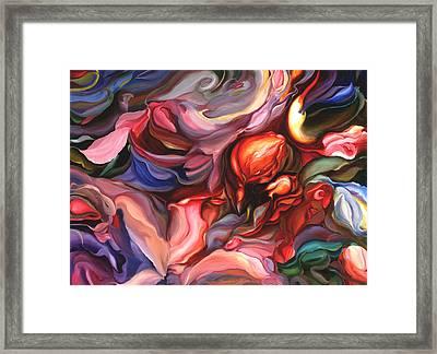 Aria - Acrylic On Canvas Framed Print
