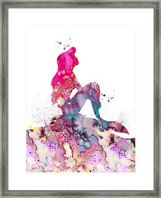 Ariel 2 Framed Print by Luke and Slavi
