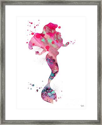 Ariel Framed Print by Luke and Slavi