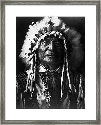 Arikara Chief, 1908 Framed Print by Granger