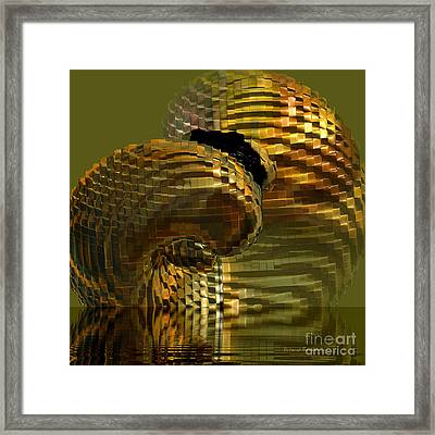 Arisen From The Depths Framed Print by Deborah Benoit