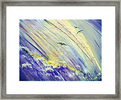 Arising Framed Print