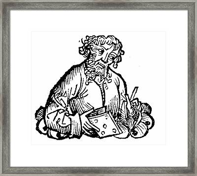 Aristarchos Of Samos Framed Print by Universal History Archive/uig