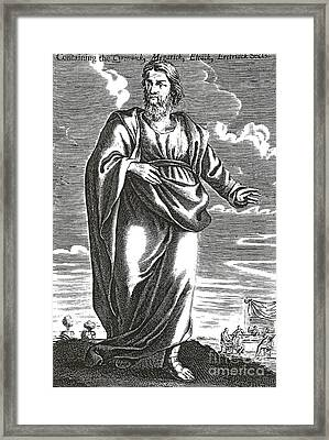 Aristippus Of Cyrene, Ancient Greek Framed Print by Science Source