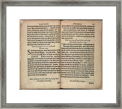 Aristocrat's Lard Framed Print