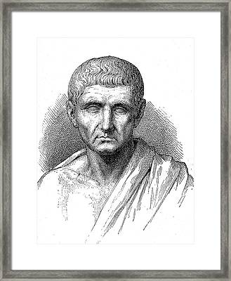 Aristotle Framed Print by Collection Abecasis