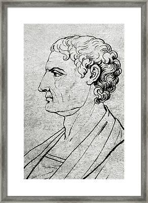 Aristotle (stagira, 384 Bc - Chalcis Framed Print