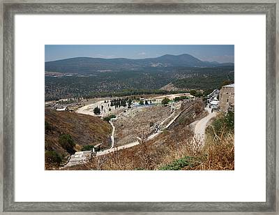 Framed Print featuring the photograph Arizal View by Julie Alison
