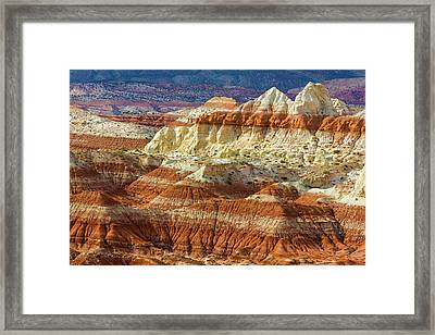 Arizona A Desert Area Called Toad Framed Print by Jaynes Gallery