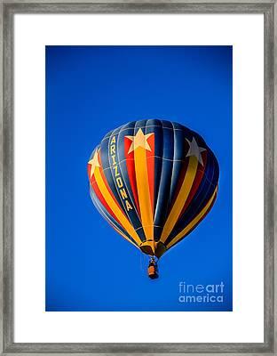 Arizona Balloon Framed Print by Robert Bales
