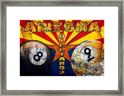 Arizona Billiards Framed Print by David G Paul