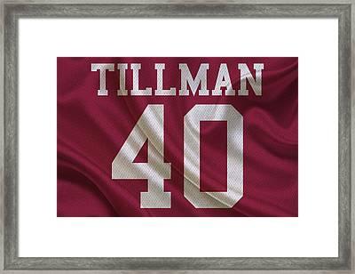 Arizona Cardinals Pat Tillman Framed Print by Joe Hamilton
