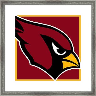 Arizona Cardinals Framed Print by Tony Rubino