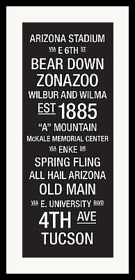 Arizona Stadium Framed Prints
