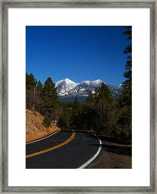 Arizona Country Road  Framed Print by Joshua House