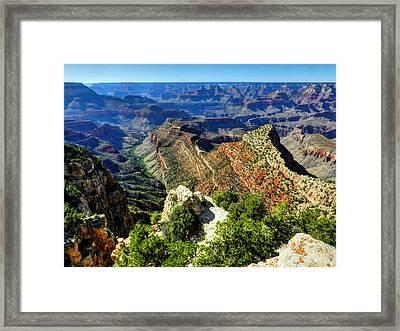 Arizona - Grand Canyon 005 Framed Print
