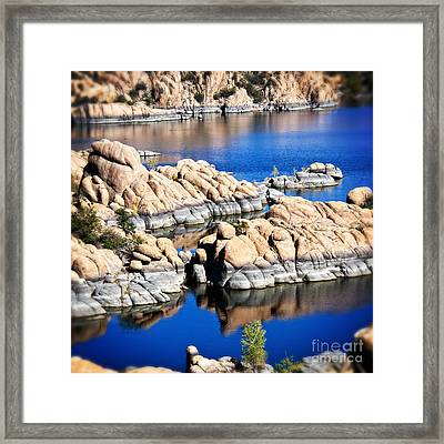 Arizona Granite 1 Framed Print