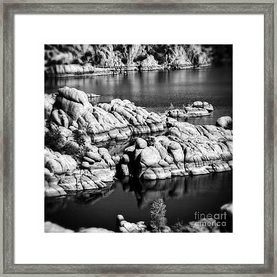 Arizona Granite 2 Framed Print