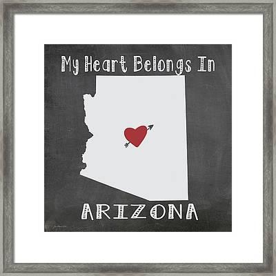 Arizona Framed Print by Jo Moulton