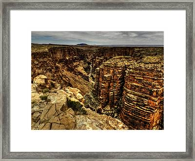 Arizona - Little Colorado River Gorge 003 Framed Print
