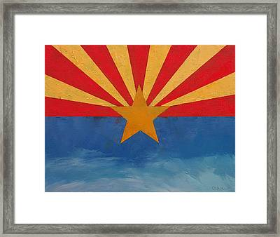 Arizona Framed Print by Michael Creese