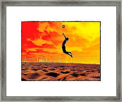 Arizona Rising Framed Print by Scott Allison