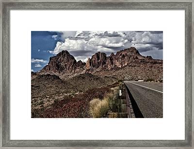 Arizona Road Framed Print by Joyce Isas