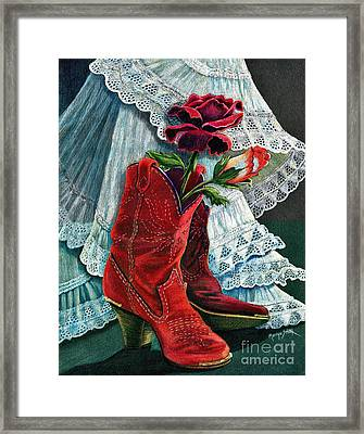 Arizona Rose Framed Print
