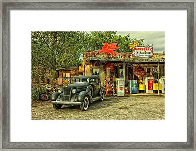 Arizona Route 66 Framed Print by Movie Poster Prints