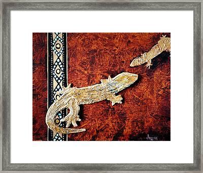 Arizona Sam Framed Print